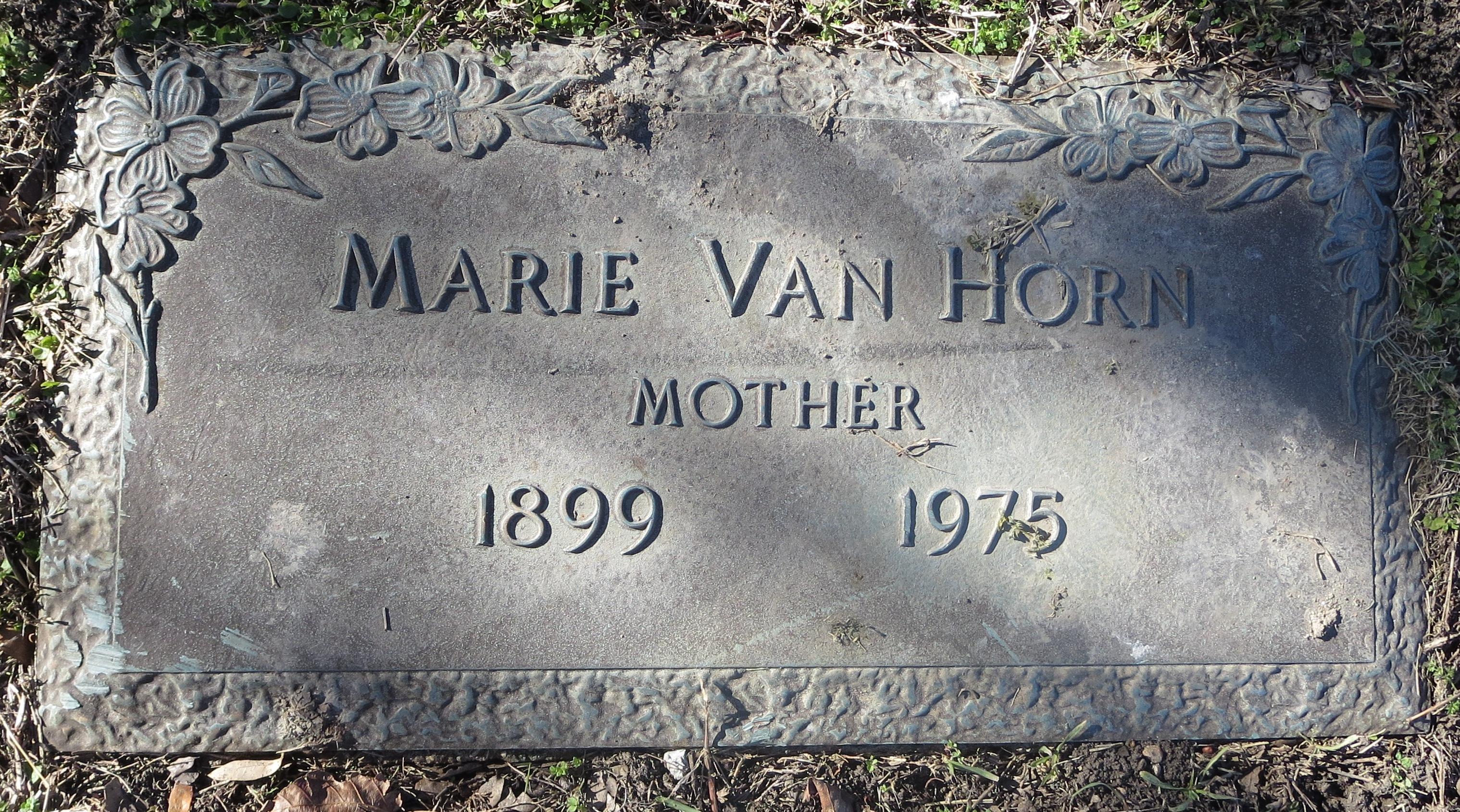 Edna Marie <i>Bucy</i> Van Horn