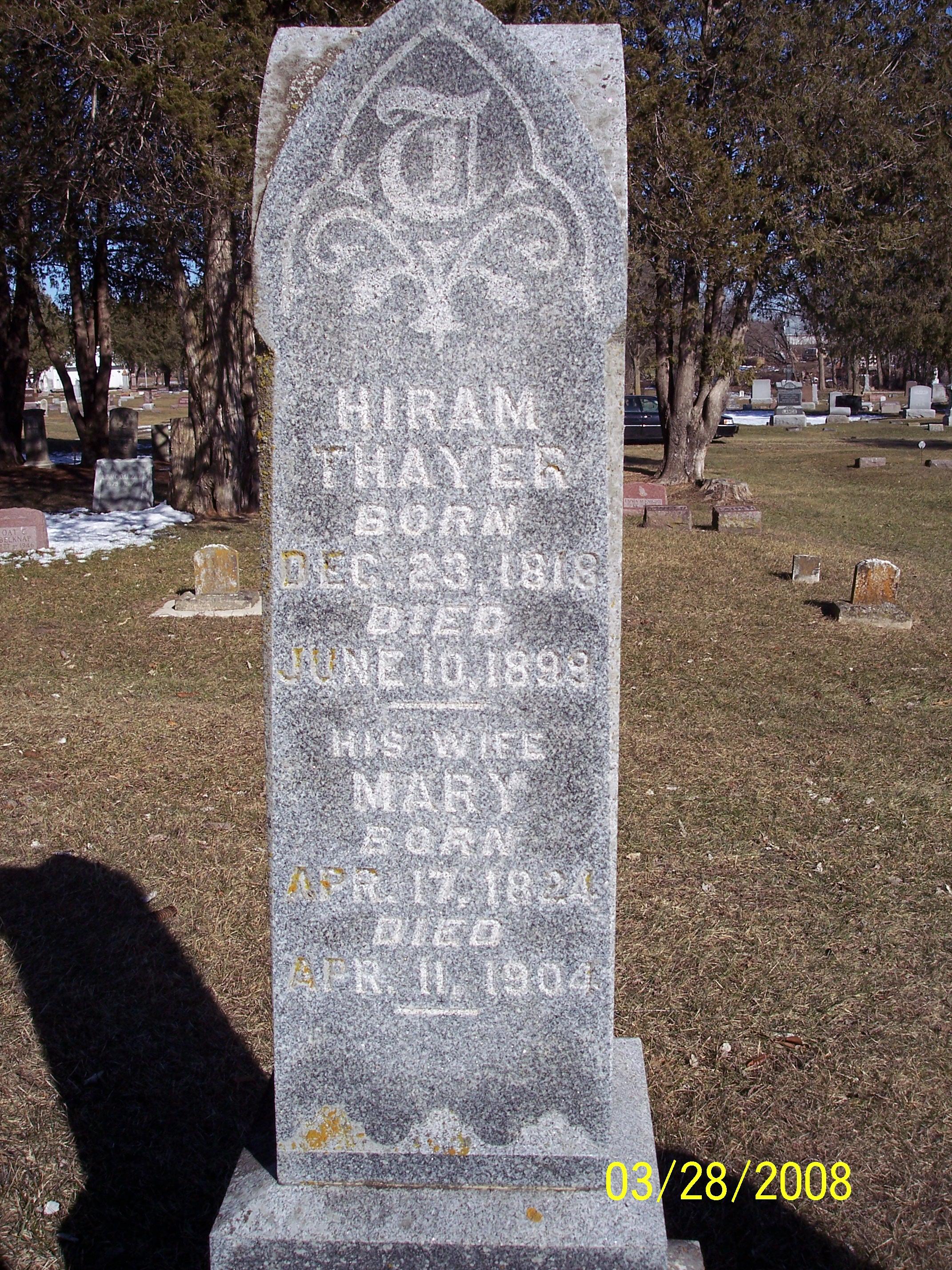 Hiram Elmer Thayer