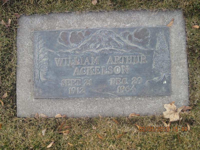 William Arthur Ackelson