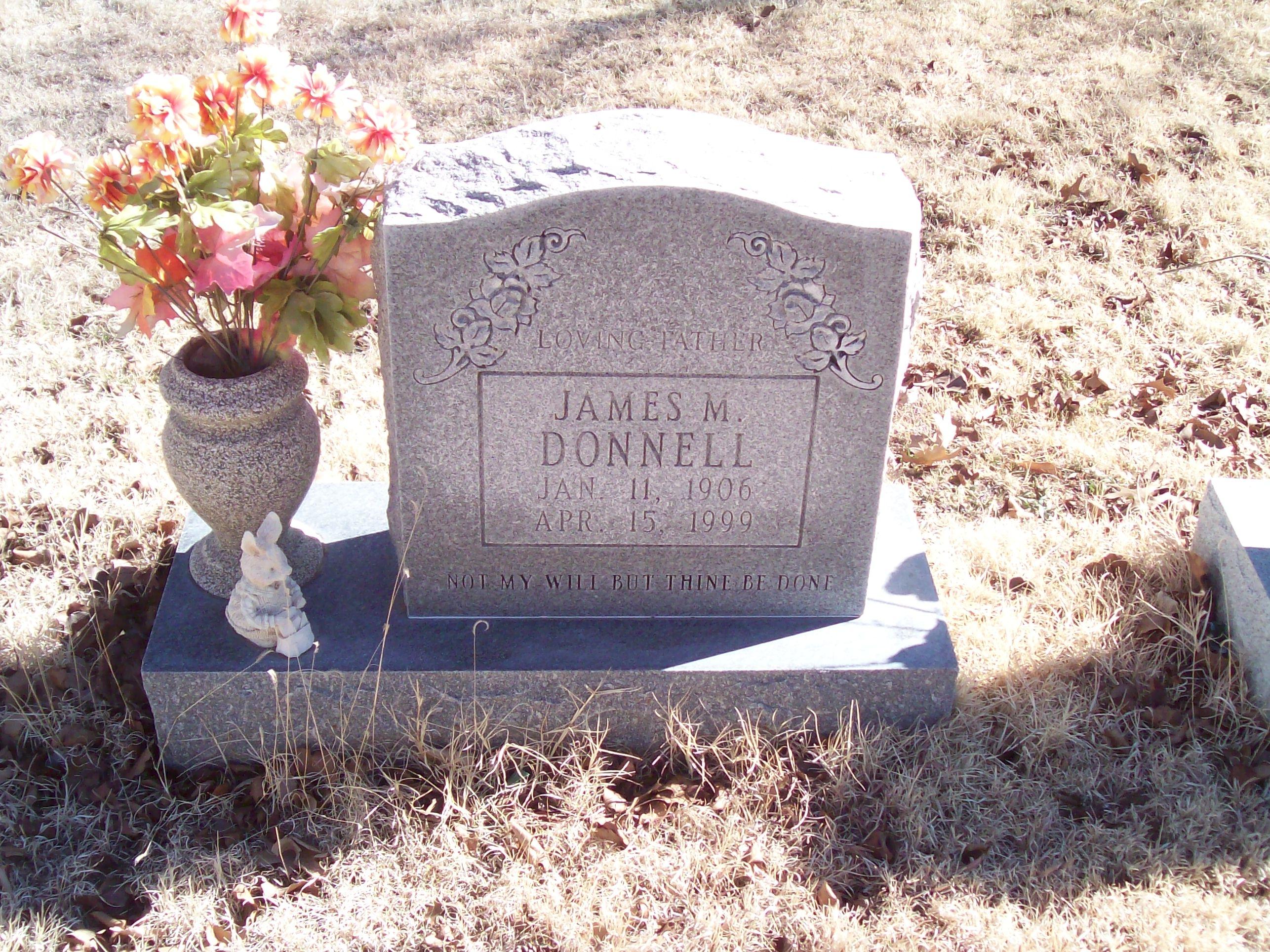 James M. Mack Donnell