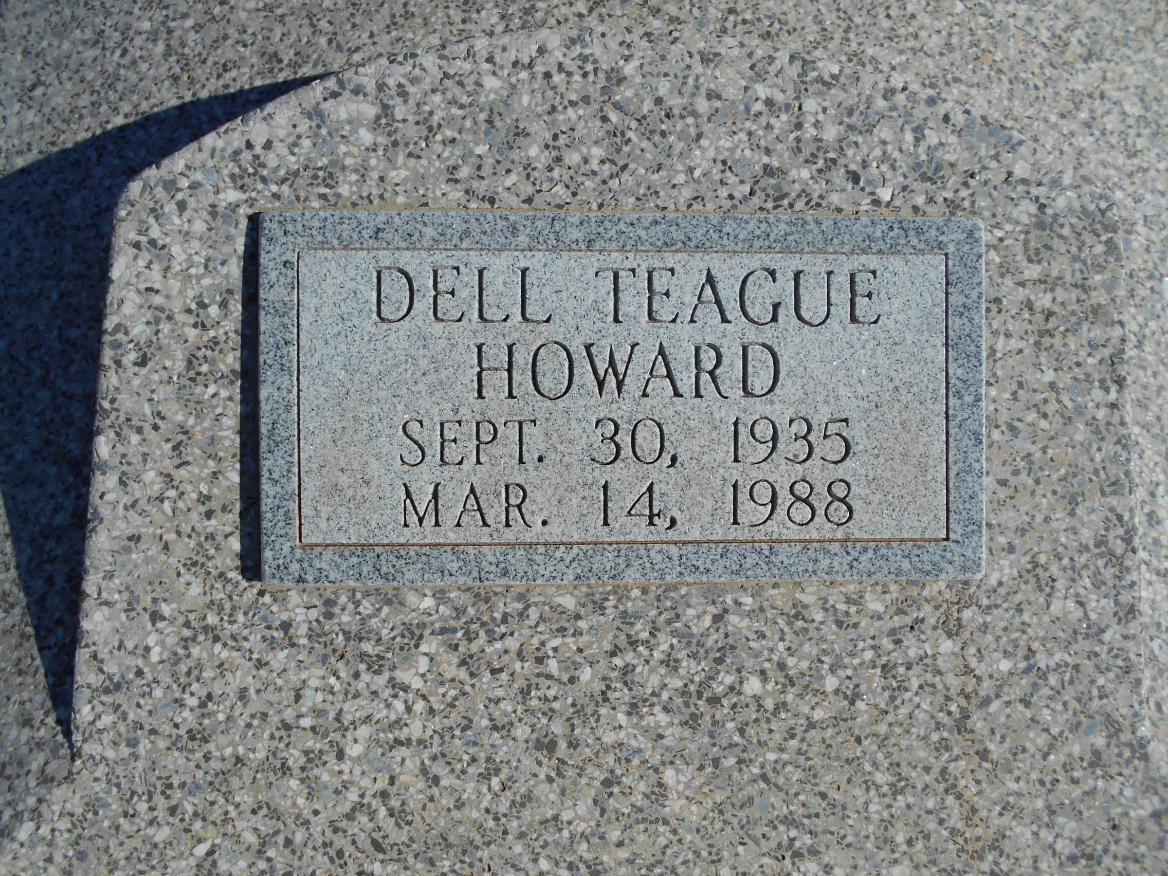 Dell <i>Teague</i> Howard