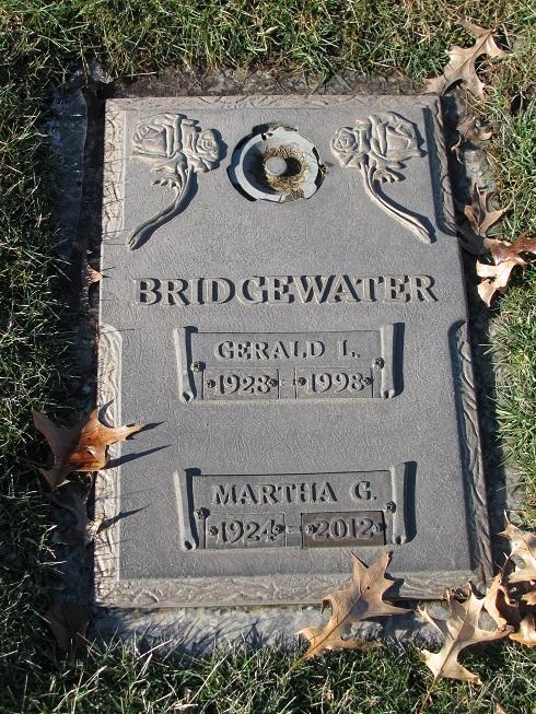 Martha G <i>Miller</i> Bridgewater