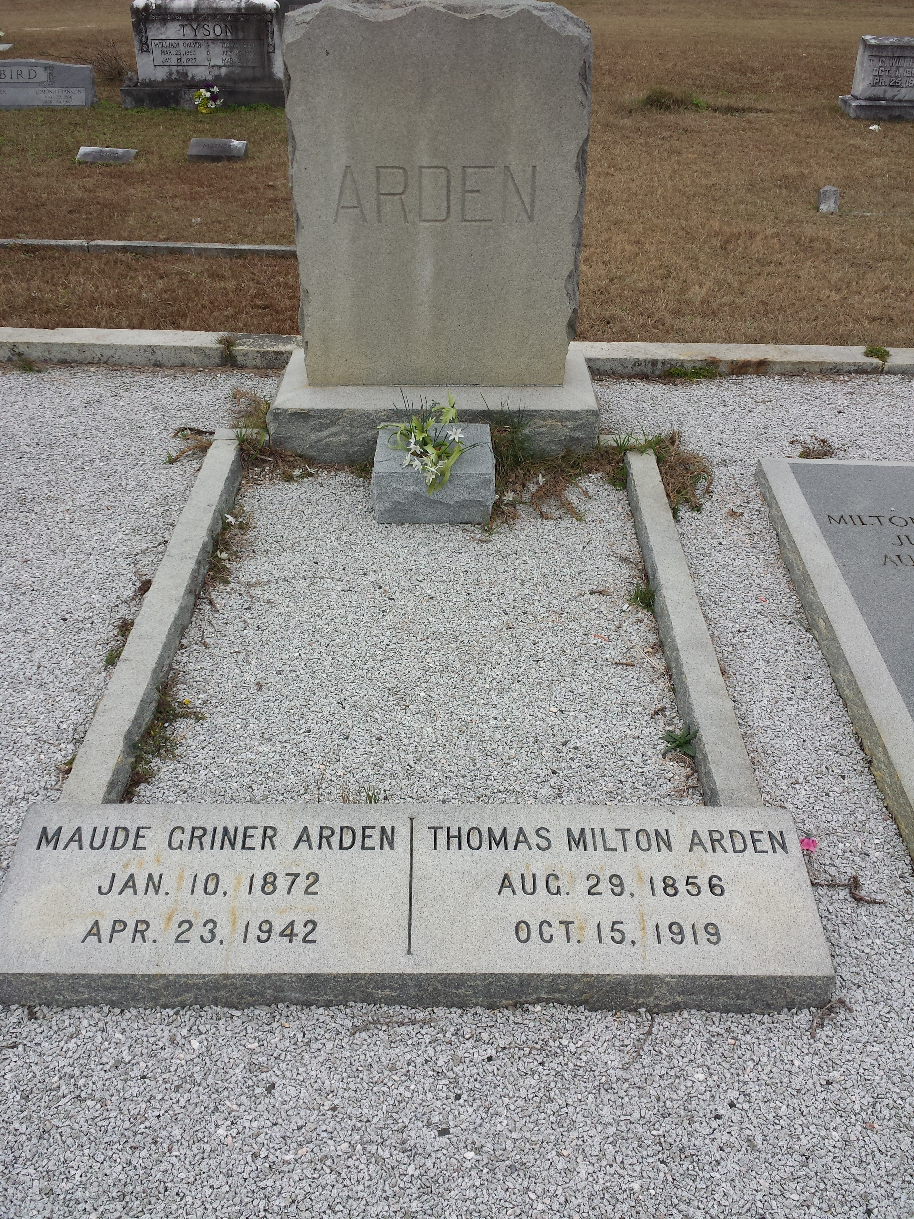 Maud Rebecca <i>Griner</i> Arden