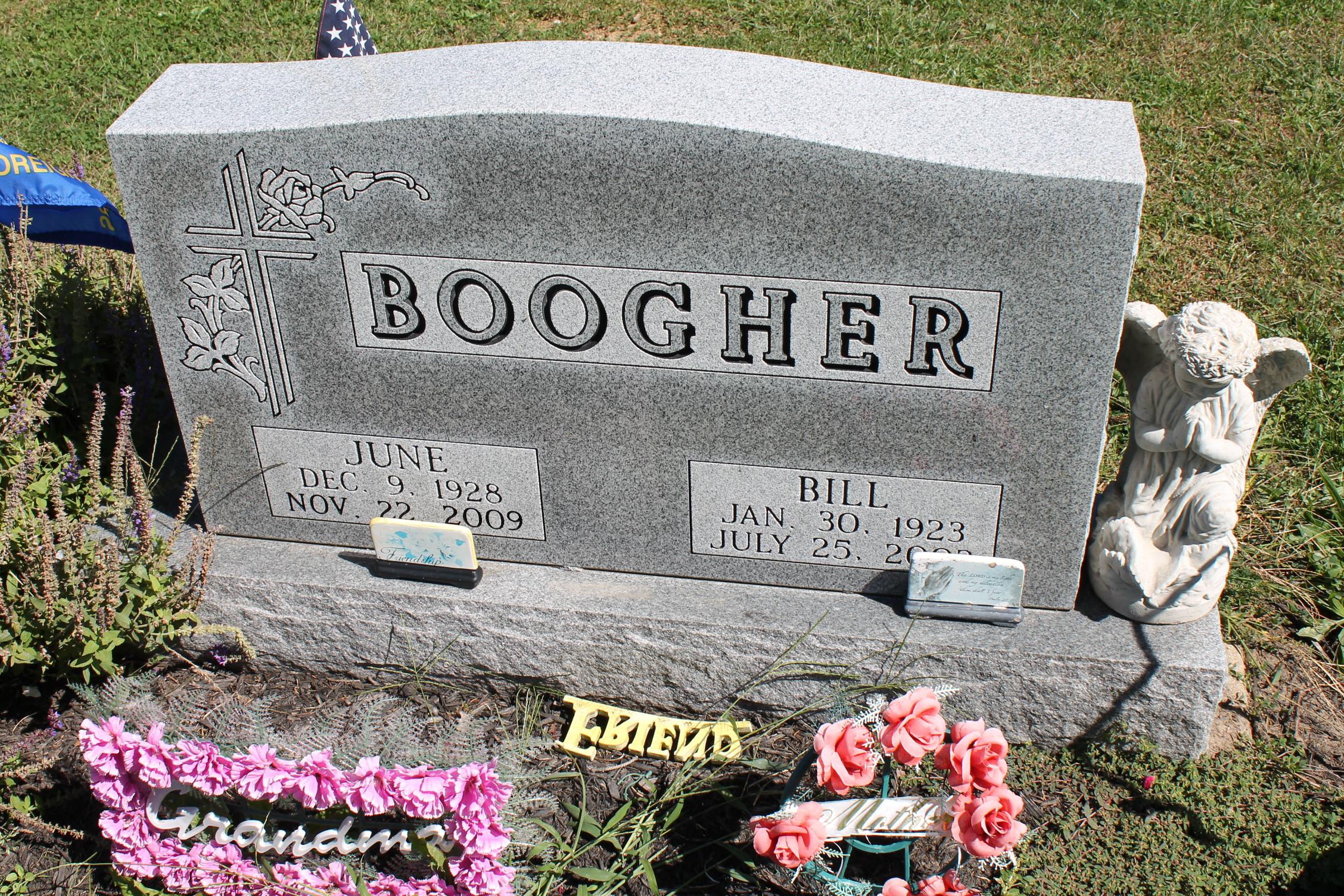 June E <i>Butz</i> Boogher