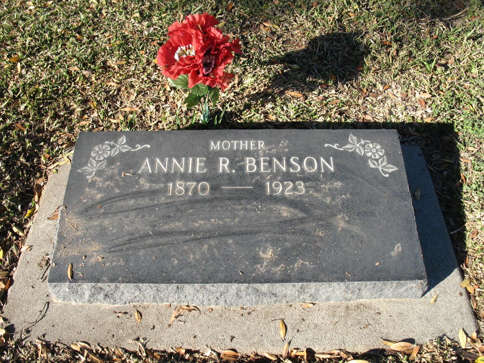 Anna R Benson