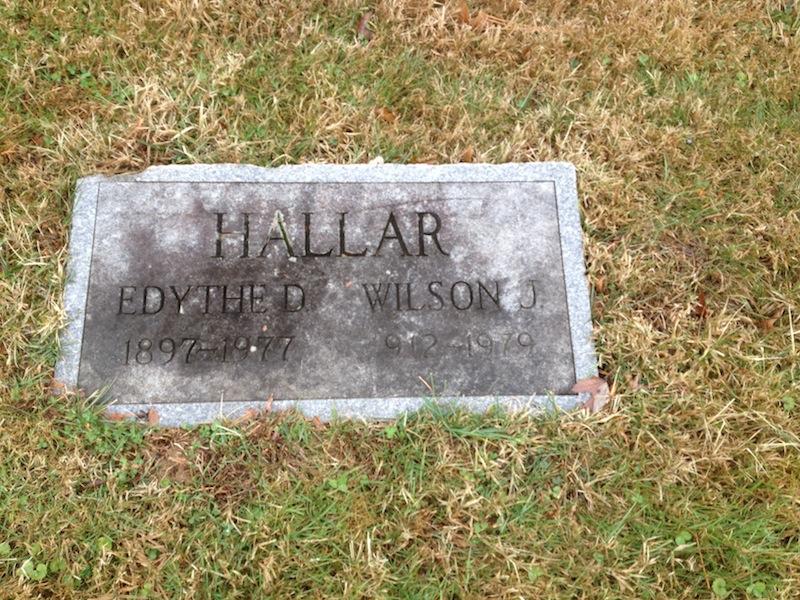 Wilson J Hallar