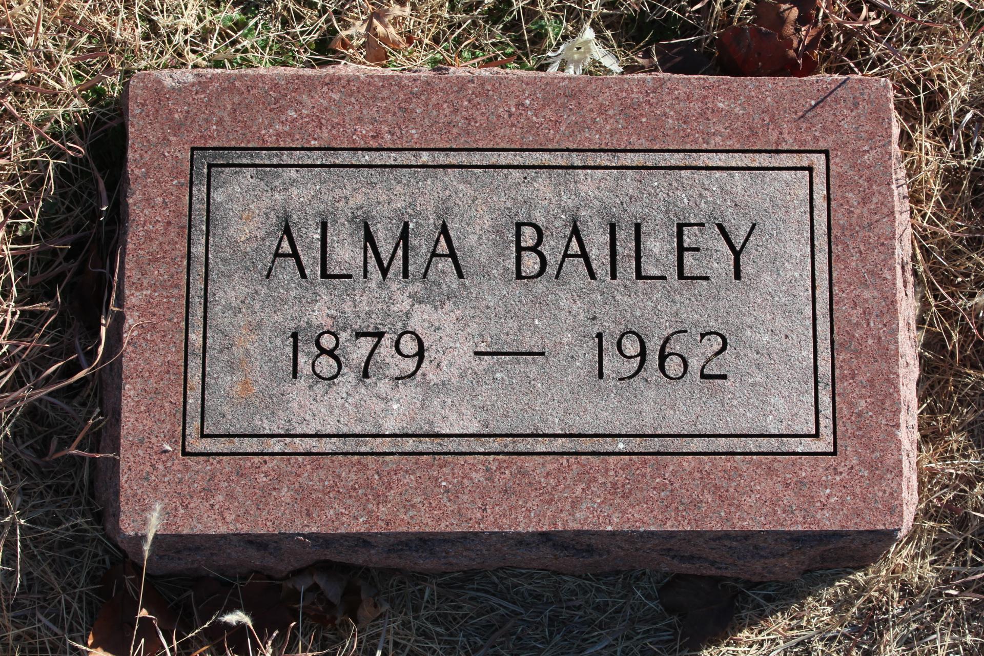 Alma <i>Winebrenner</i> Bailey