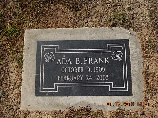 Ada B Frank