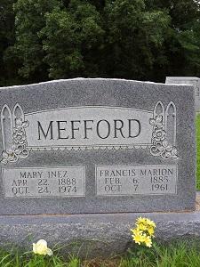 Francis Marion Mefford, Jr