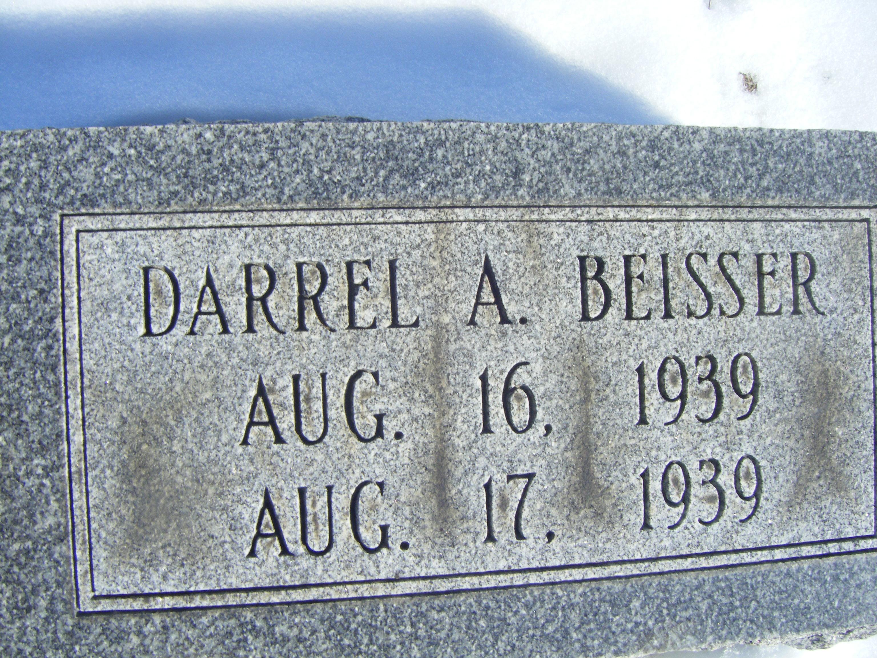 Darrel A Beisser