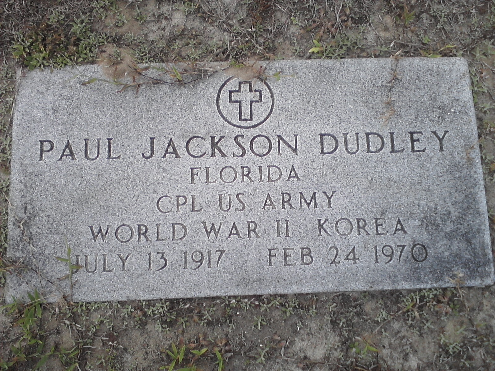 Paul Jackson Dudley, Sr