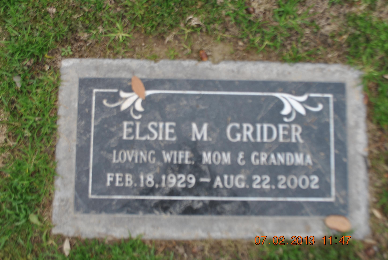 Elsie Mae Grider