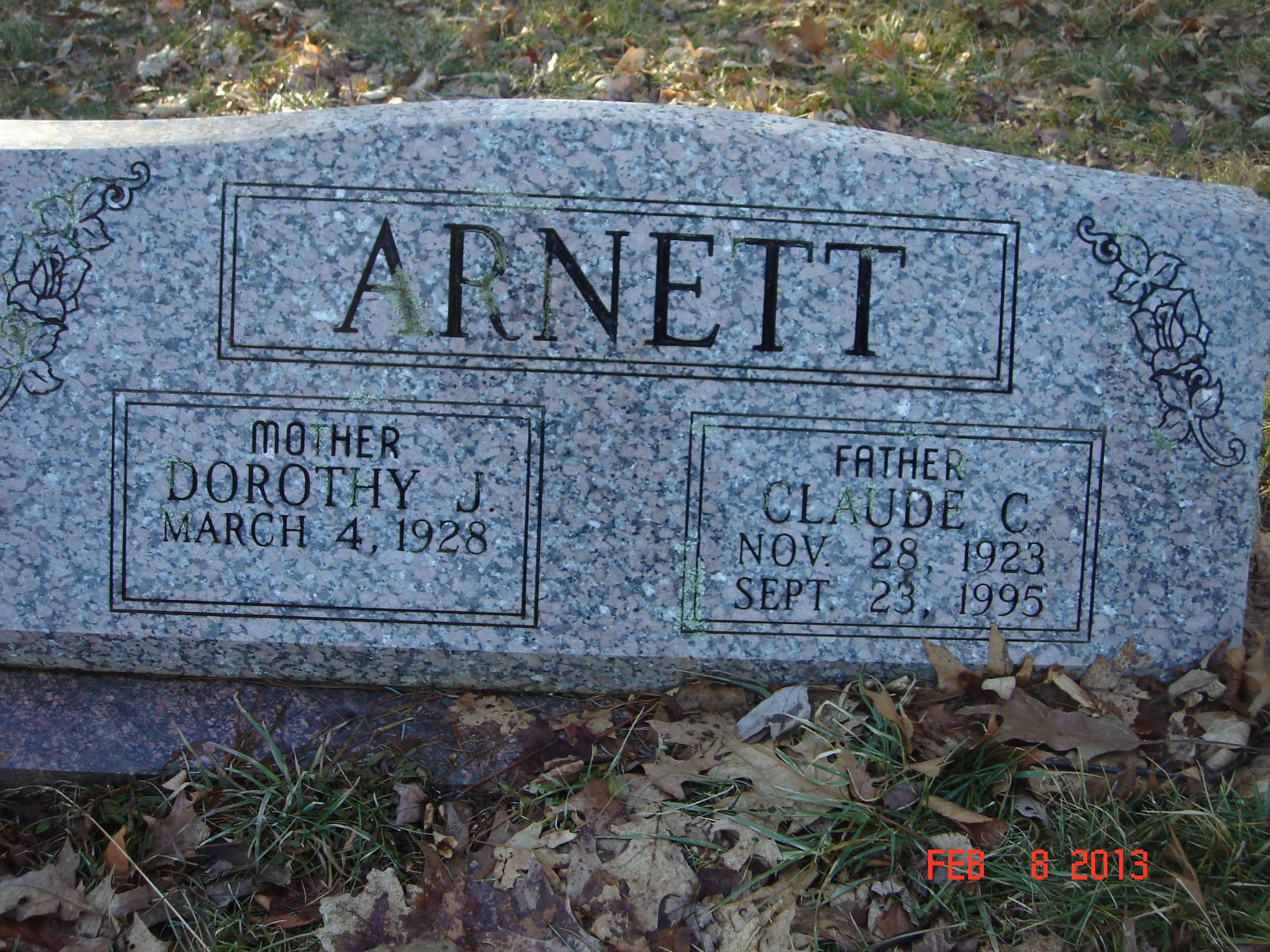 Claude Cleveland Arnett