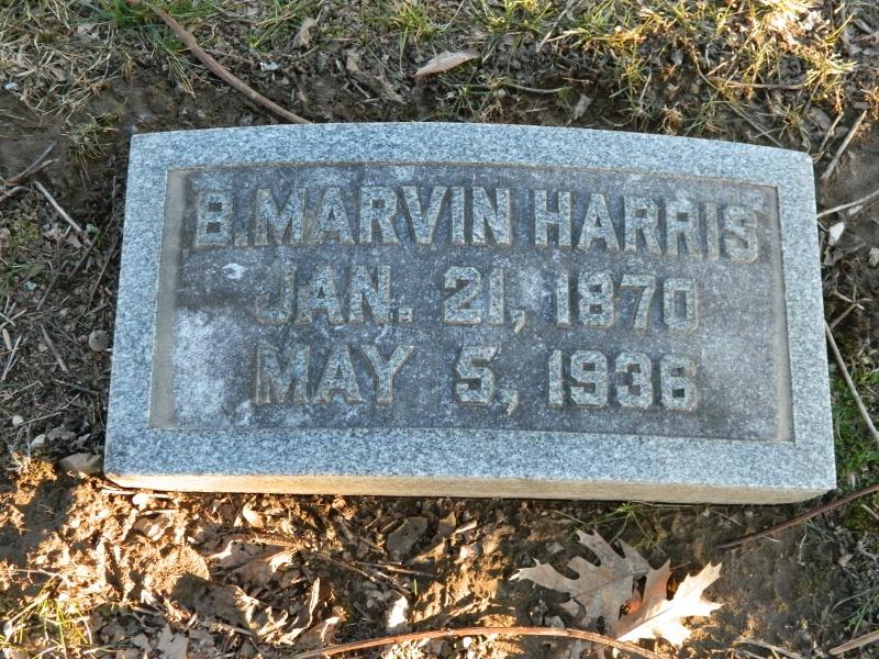 Rev B Marvin Harris