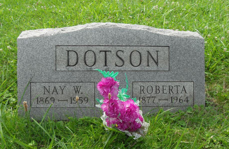 Roberta Josephine Birdie / Bertie <i>McClead</i> Dotson