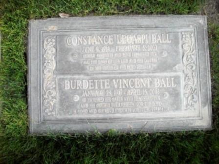 Burdette <i>Vincent</i> Ball