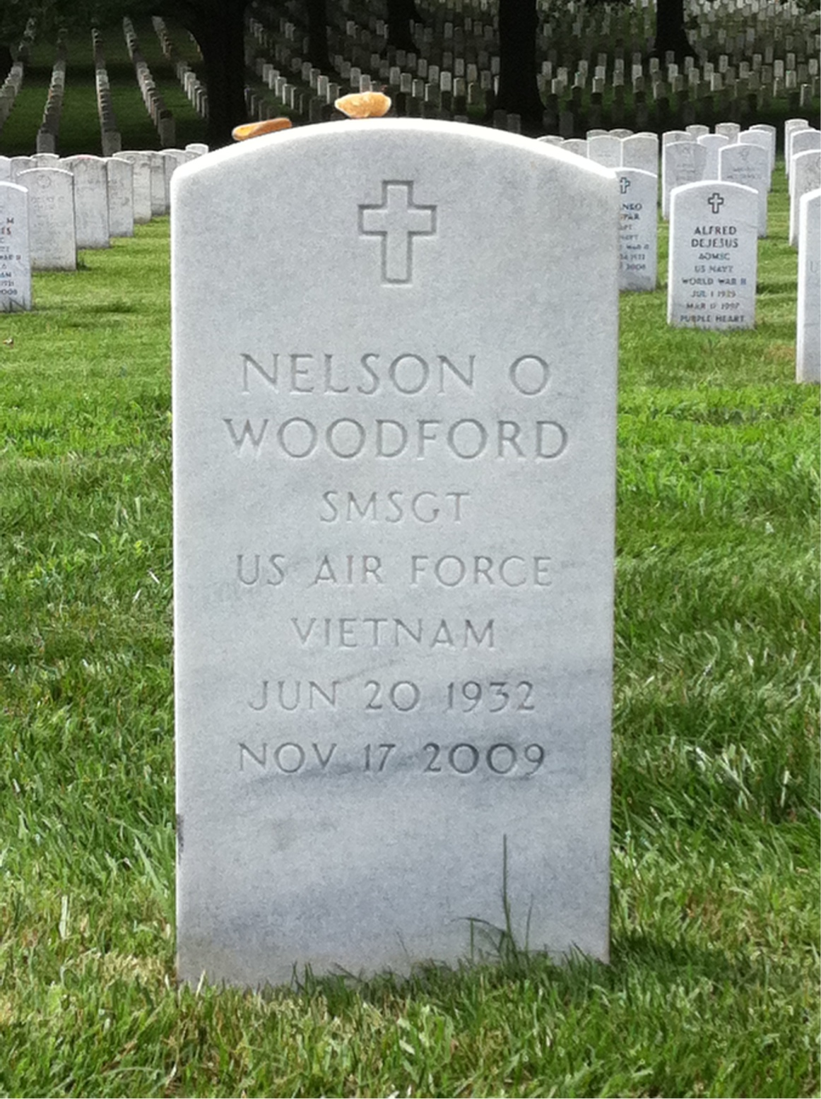 Nelson Odell Woodford