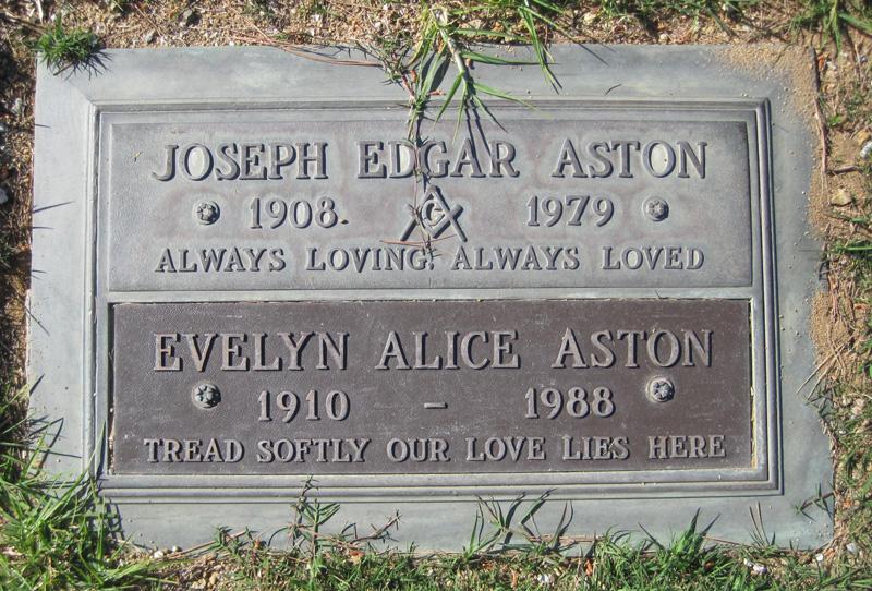 Evelyn Alice <i>Ball</i> Aston