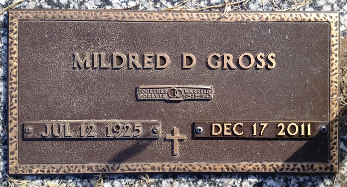 Mildred D Millie Gross