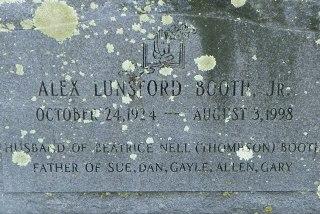 Alex Lunsford Booth, Jr