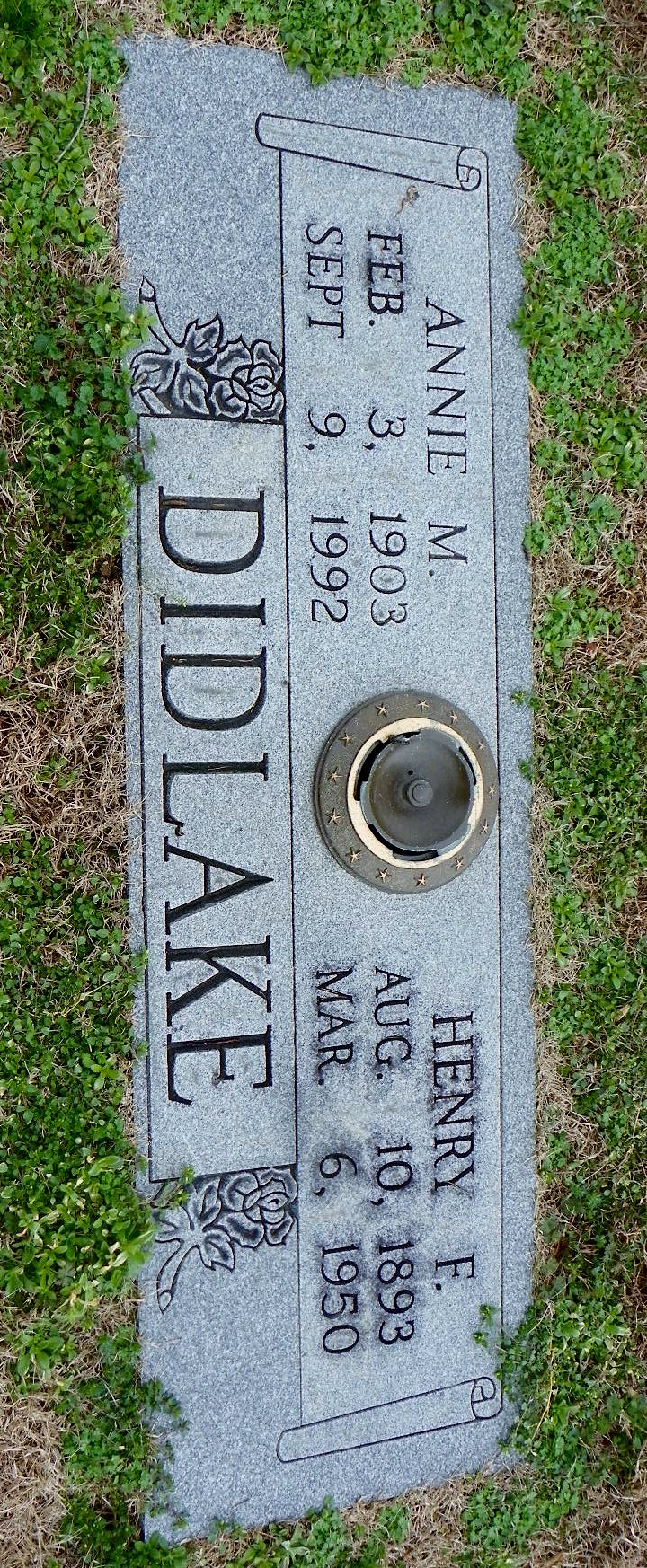 Annie M Didlake