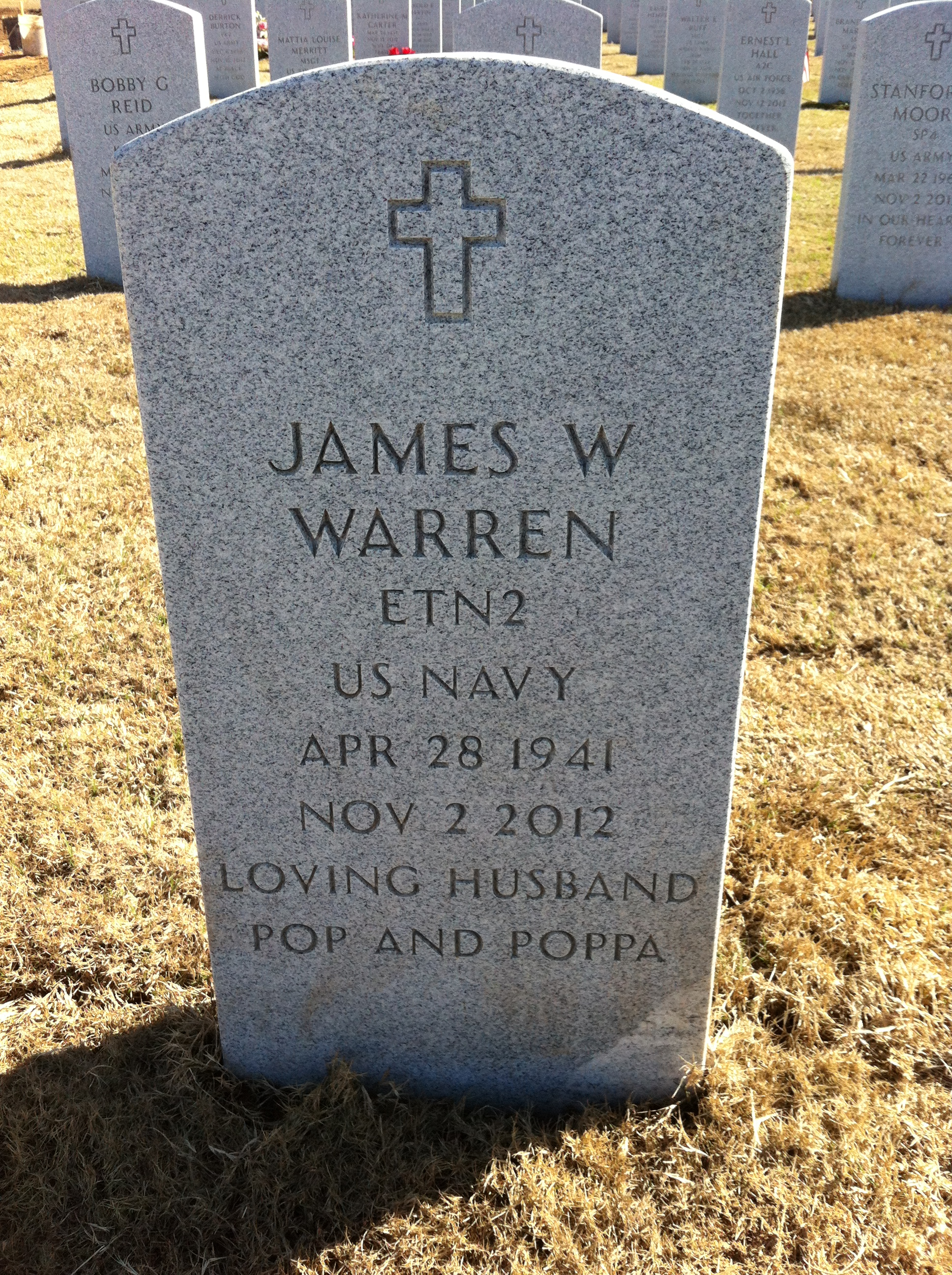 James William Warren
