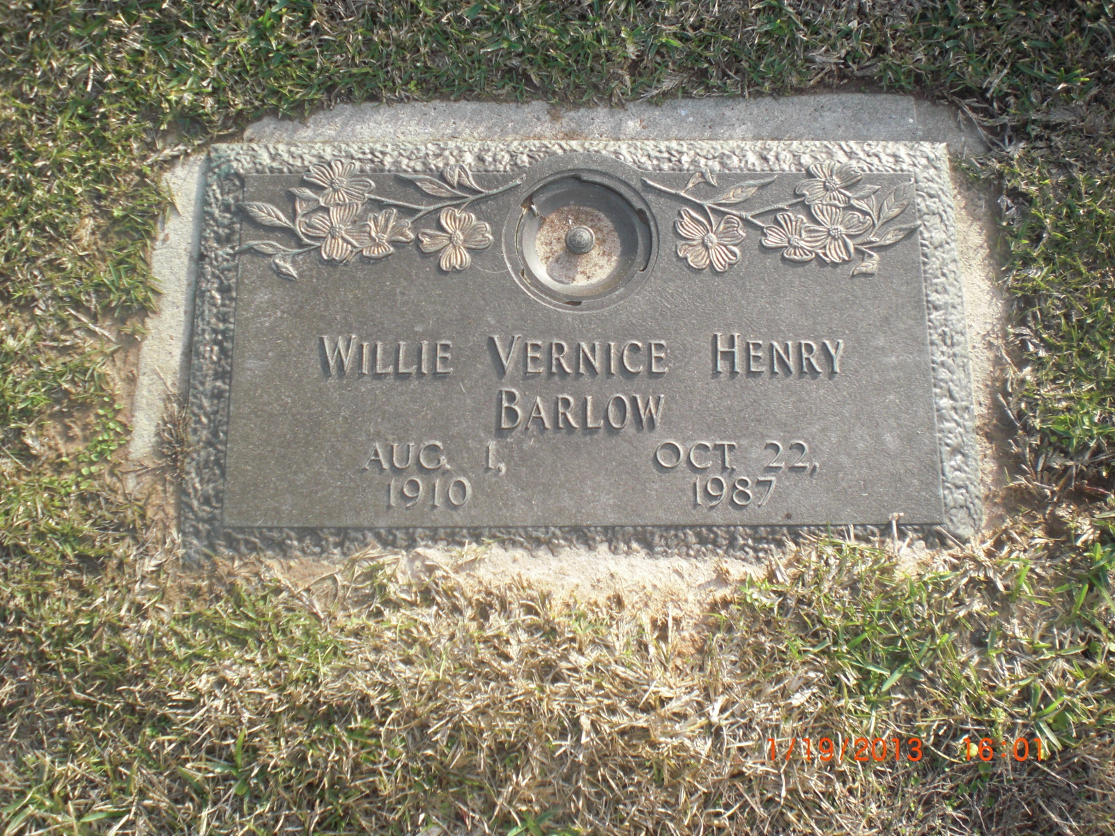Willie Vernice <i>Henry</i> Barlow