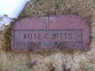 Rose C <i>Hannell</i> Kitts