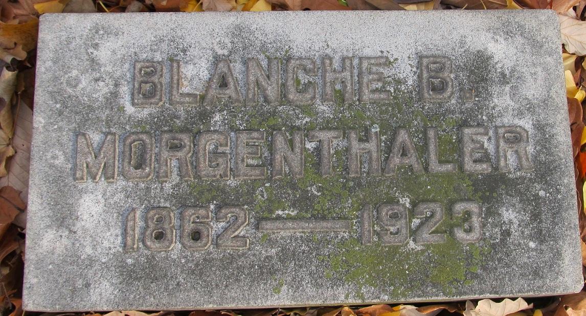 Blanche Morgenthaler