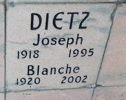 Blanche Dietz
