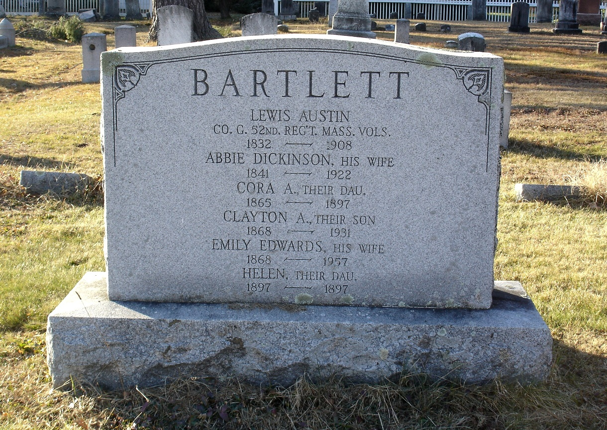 Abbie J. <i>Dickinson</i> Bartlett