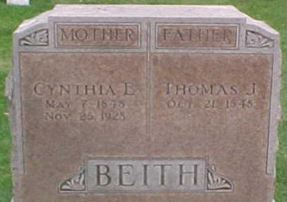 Cynthia Elizabeth <i>Dawes</i> Beith