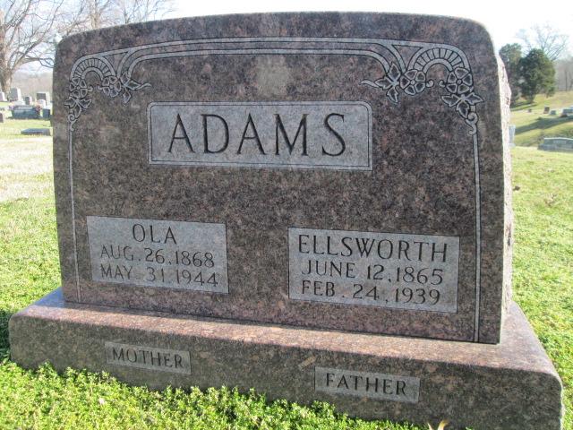 Ola <i>Shadle</i> Adams