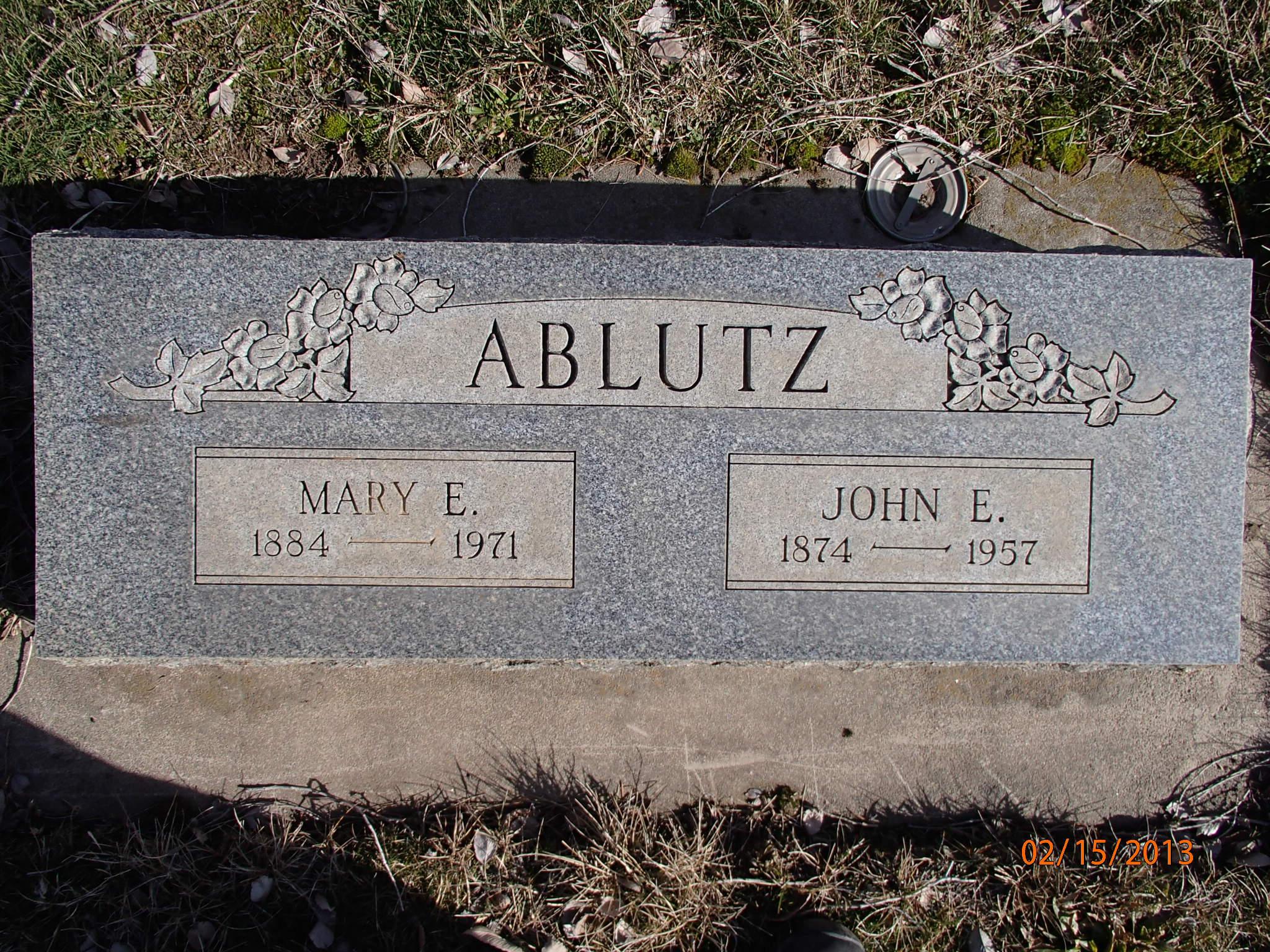 John Ervin Ablutz