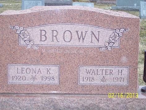 Leona Kathern <i>Dragoo</i> Brown