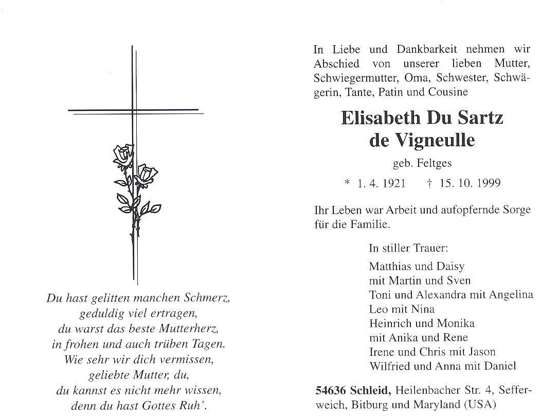 Elisabeth lieschen feltges du sartz de vigneulle 1921 1999 view original biocorpaavc Choice Image