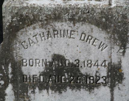 Catharine <i>Strickland</i> Drew