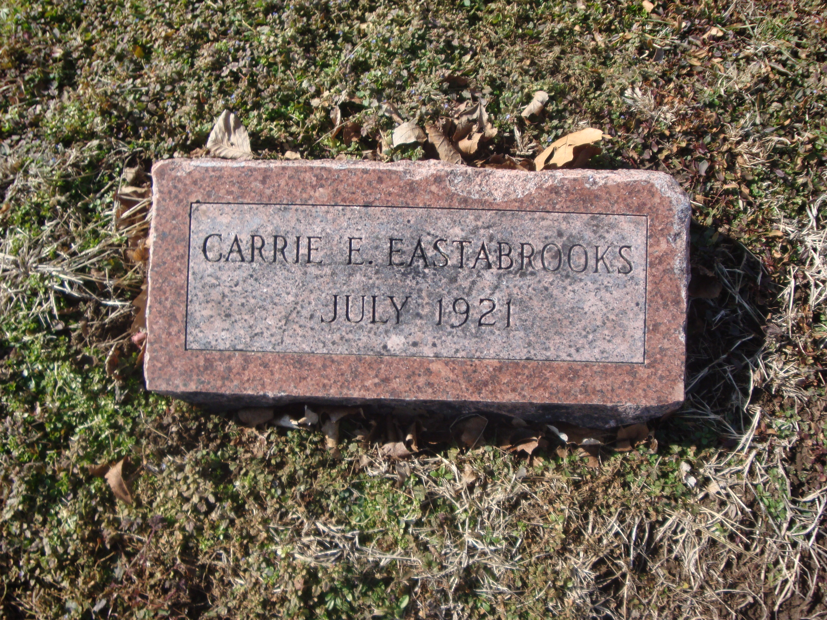 Carrie Elizabeth Eastabrooks