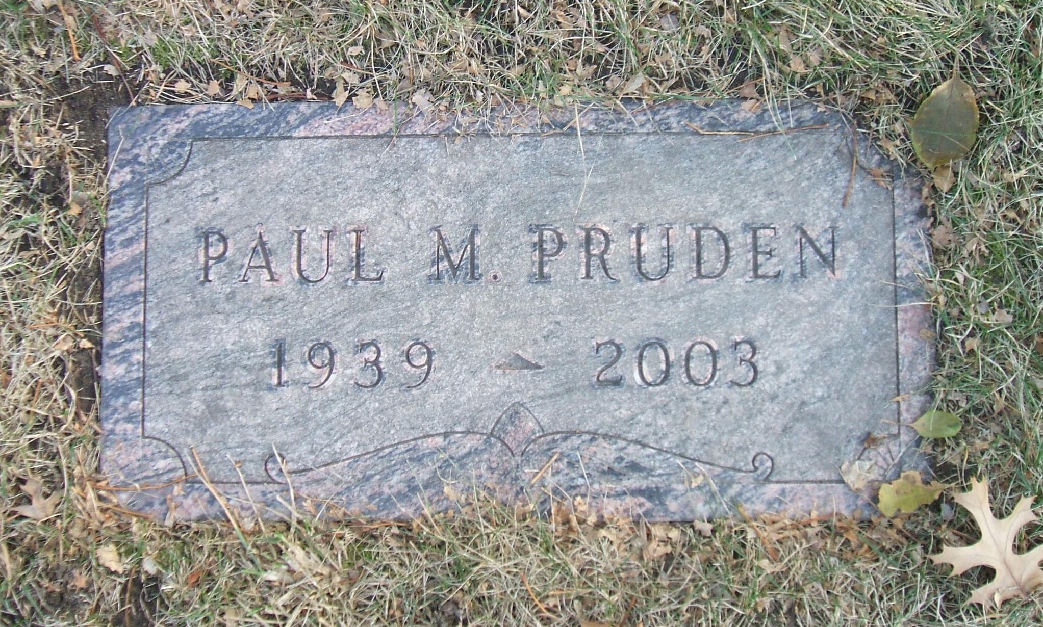 Paul M Pruden