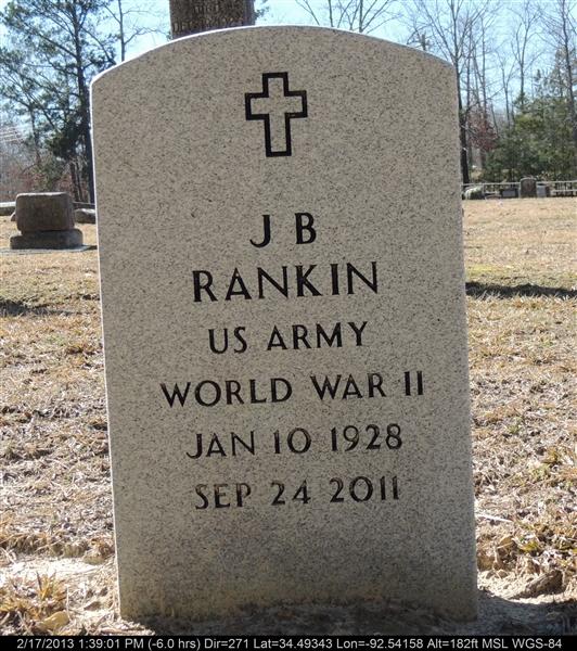 J B Rankin