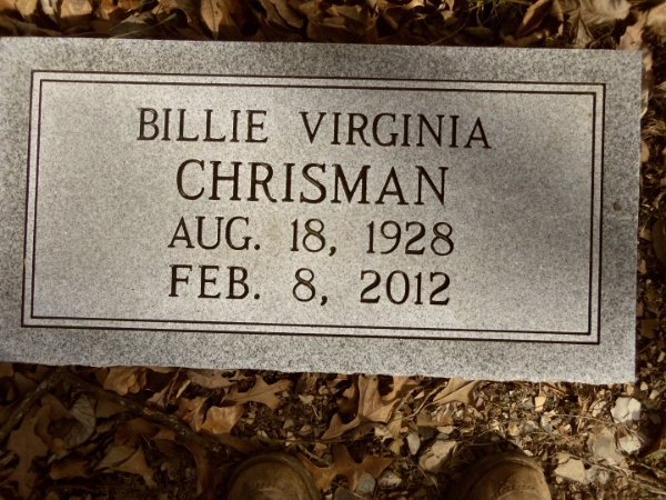 Billie Virginia Chrisman