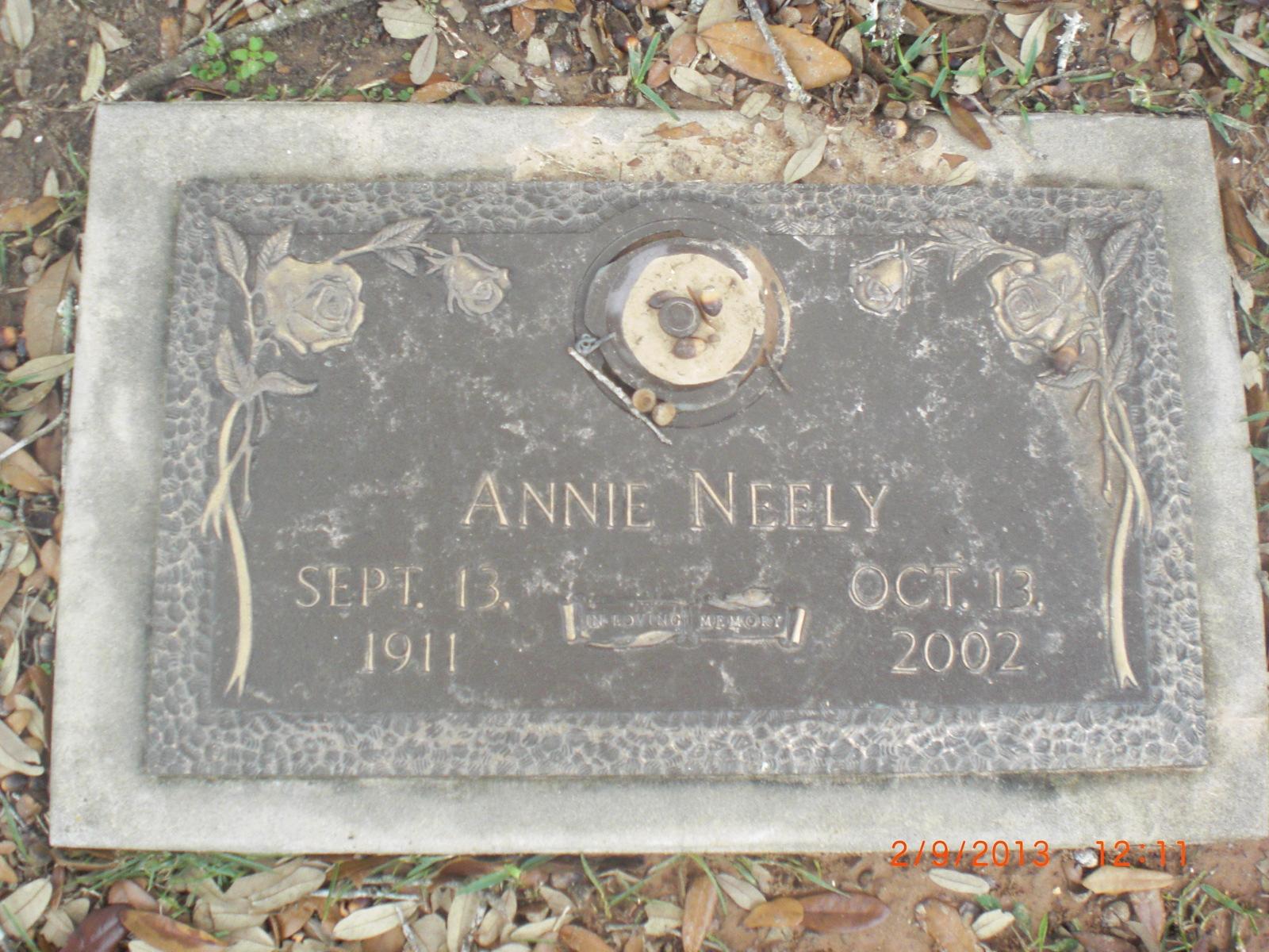 Annie Laverne <i>Duncan</i> Neely