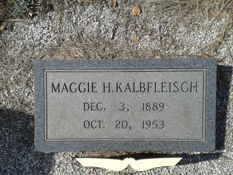 Maggie Mae <i>Booth</i> Kalbfleisch