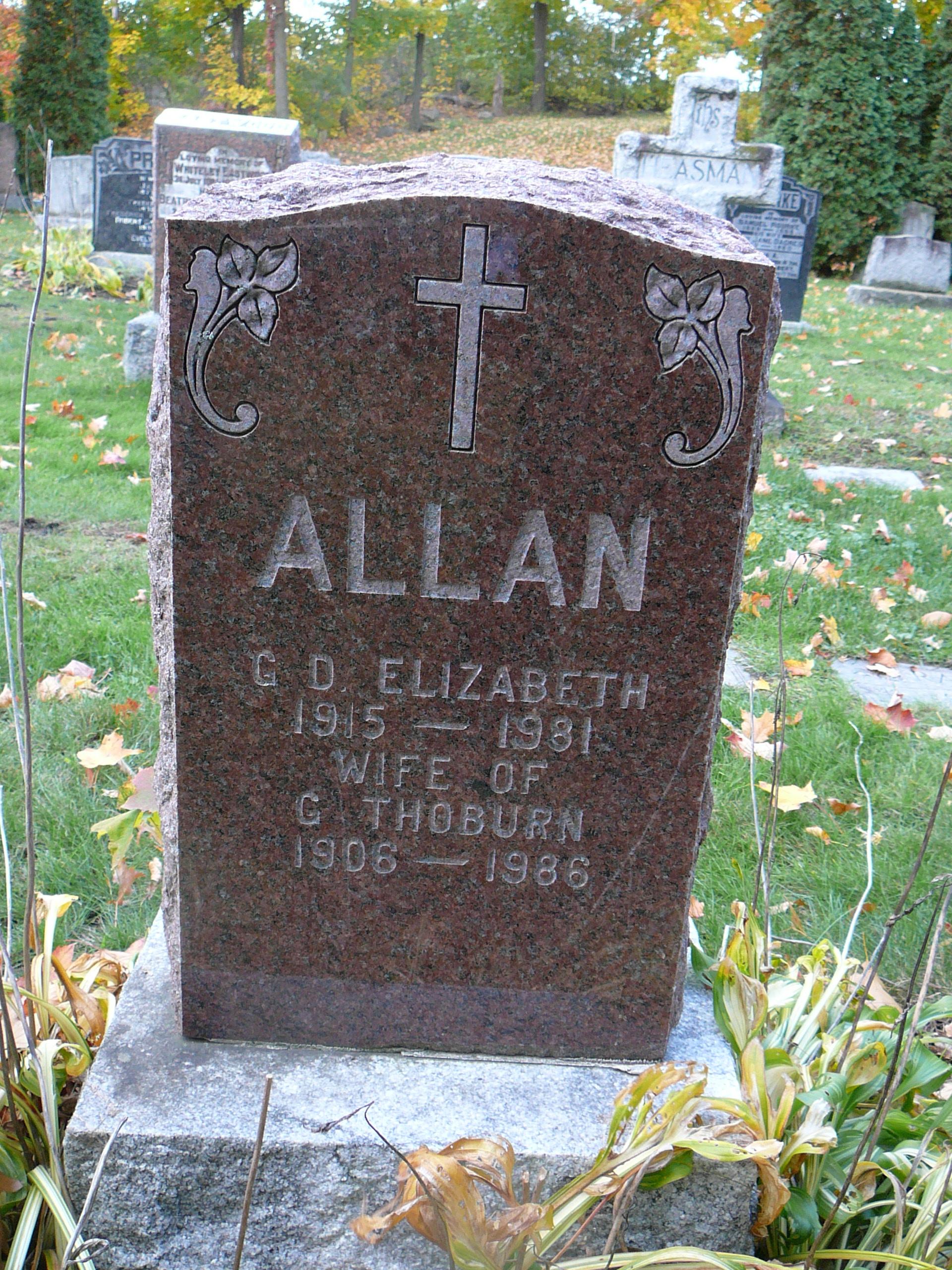 George Thoburn Toke Allan
