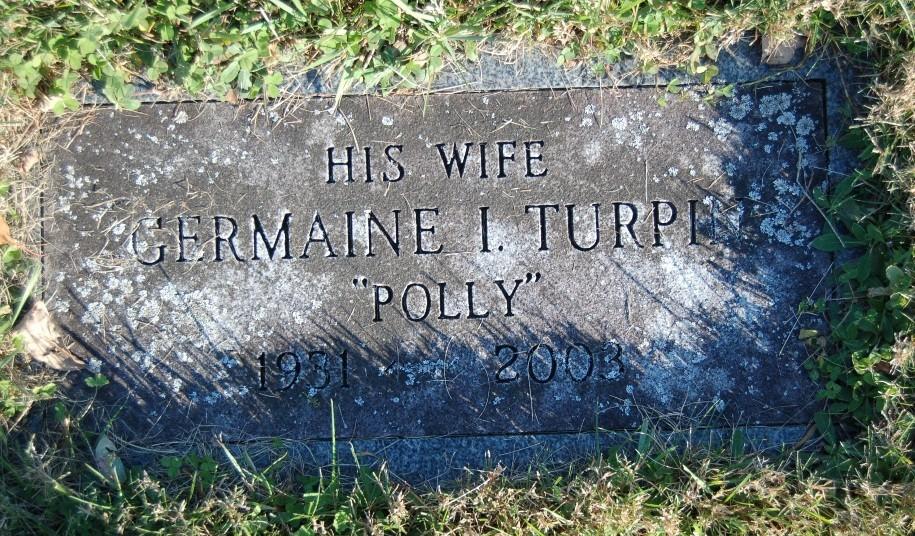 Germaine Ida Polly <i>Turpin</i> Hrydziusko