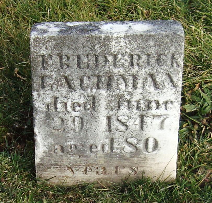 Frederick Lachman, Sr