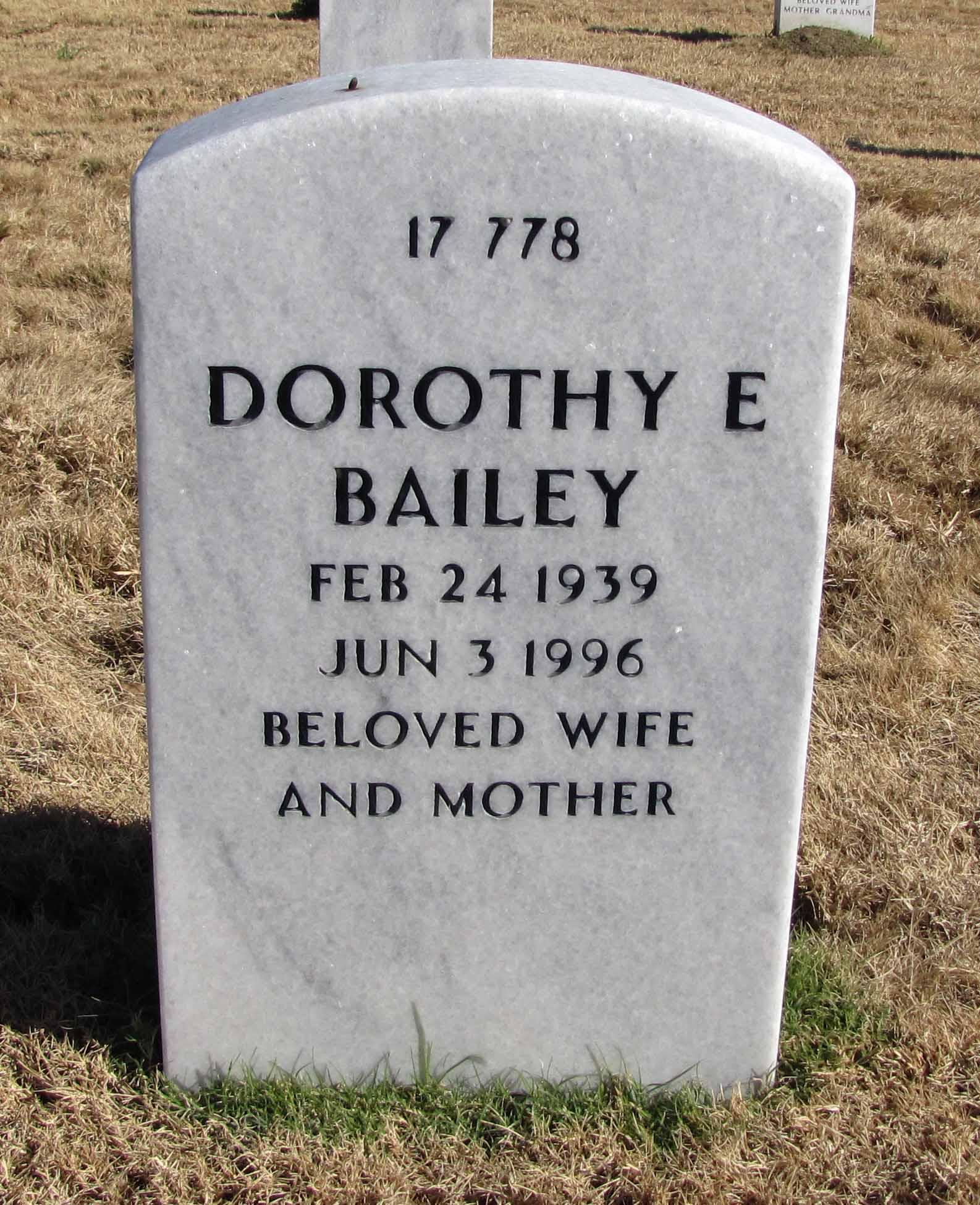 Dorothy E Bailey