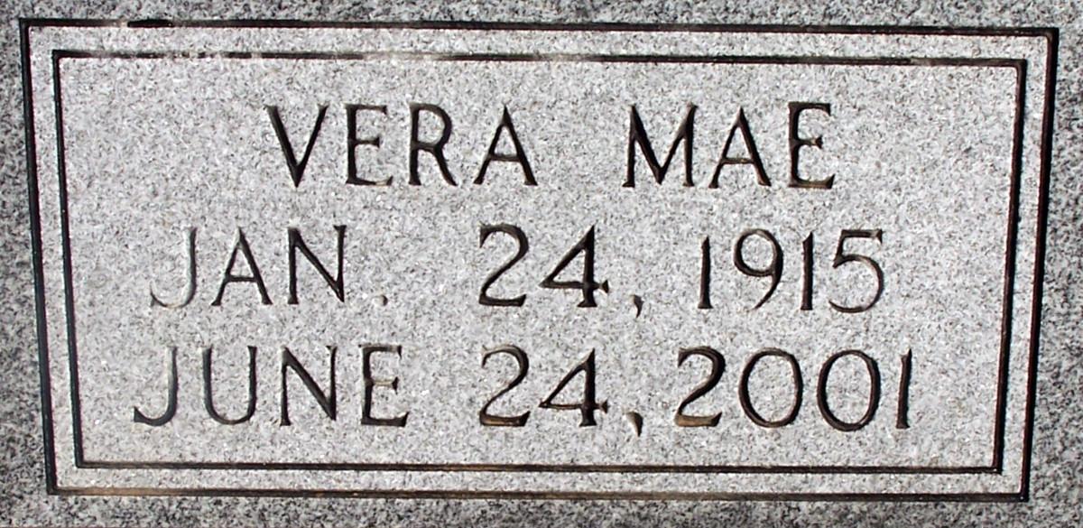 Vera Mae <i>Sweatman</i> Garner