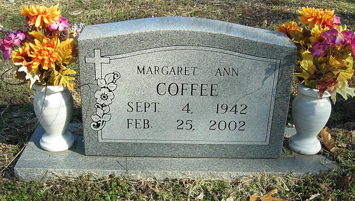 Margaret Ann <i>Hill</i> Coffee