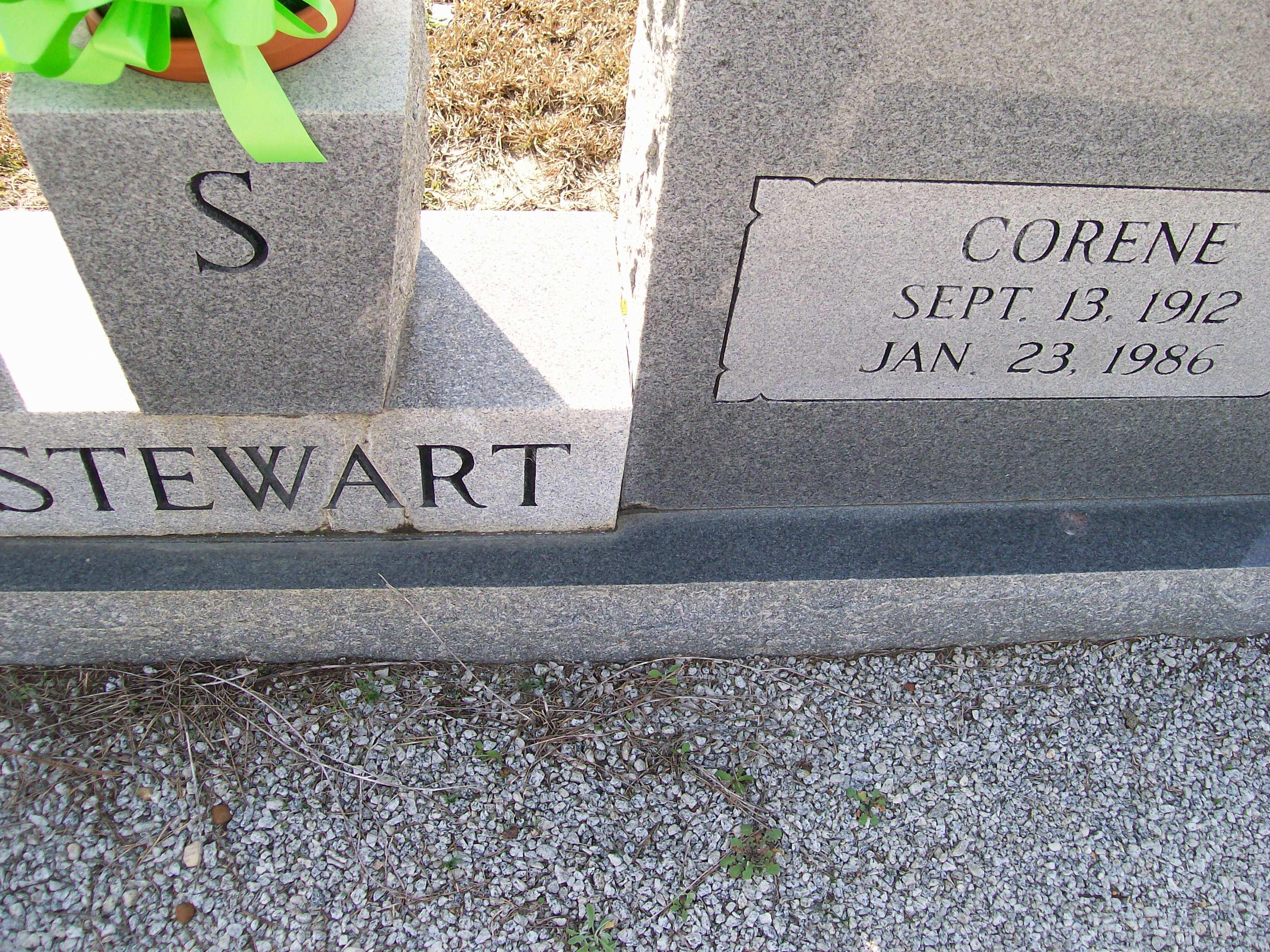 Talitha Corene <i>Baker</i> Stewart